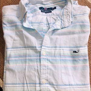Vineyard Vines Men's Short Sleeve Button Shirt